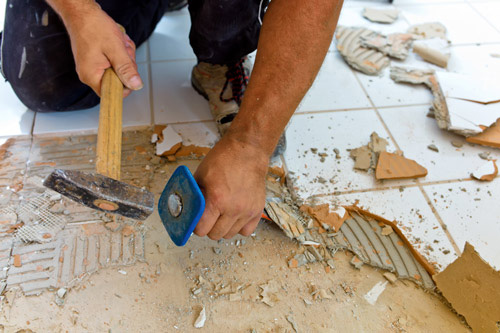 remplacement carrelage