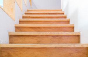 escalier classique bois