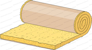 rouleau laine minérale