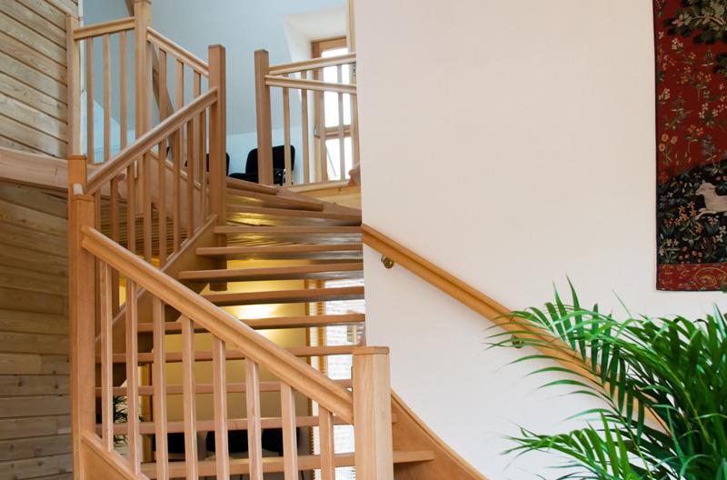 rambarde escalier bois