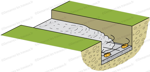 fondation mur parpaing