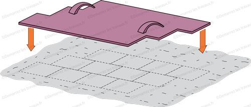 matrice beton imprime