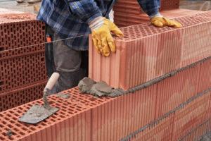 construction mur brique