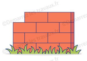 mur briques