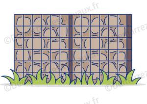 cloture mur gabion