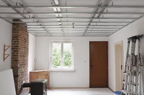 ossature metallique plafond suspendu