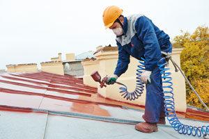 peinture toiture metal
