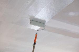 peinture plafond rouleau