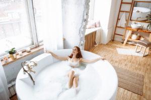 baignoire ronde