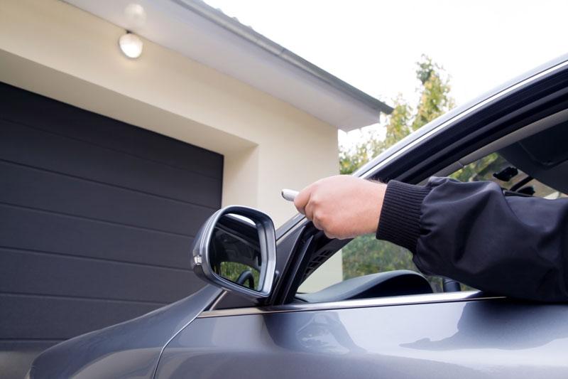ouverture porte garage
