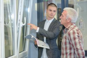 professionnel fenêtres PVC double vitrage