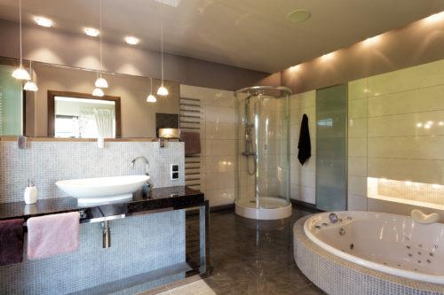 éclairage salle de bains