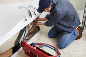 plombier robinet baignoire