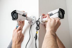 installation cameras surveillance