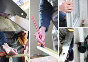 installation fenêtre PVC