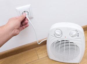 Mise en prise radiateur soufflant