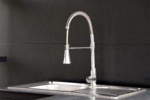 robinet d'évier à douchette