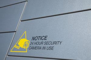Signe surveillance vidéo 24/24