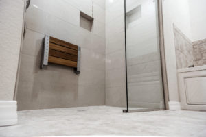 douche a l'italienne avec siege douche
