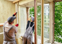 rénovation vieille fenêtre