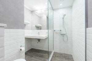 salle de douche optimisée