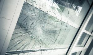 vitre cassée