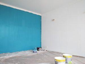 Plafond d'une couleur différente du mur